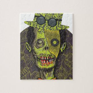 Wellcoda Zombie Dead Monster Scary Creepy Jigsaw Puzzle