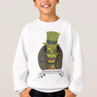 Wellcoda Zombie Dead Monster Scary Creepy Sweatshirt