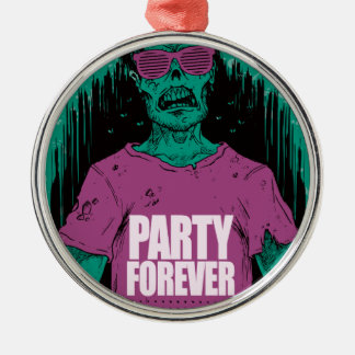 Wellcoda Zombie Monster Party Scary Dead Christmas Ornament