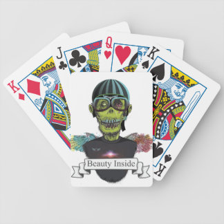 Wellcoda Zombie Pilot Captain Aviator Fly Bicycle Playing Cards