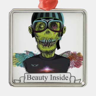 Wellcoda Zombie Pilot Captain Aviator Fly Christmas Ornament