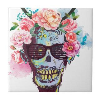 Wellcoda Zombie Skull Skeleton Horror Tile