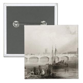 Wellesley Bridge, Limerick, Ireland 15 Cm Square Badge