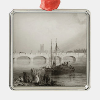 Wellesley Bridge, Limerick, Ireland Christmas Ornament