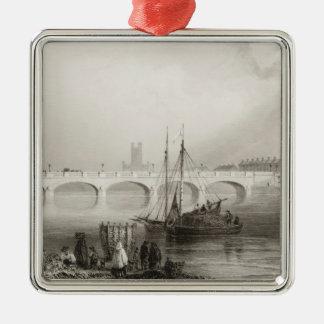 Wellesley Bridge, Limerick, Ireland Christmas Ornament