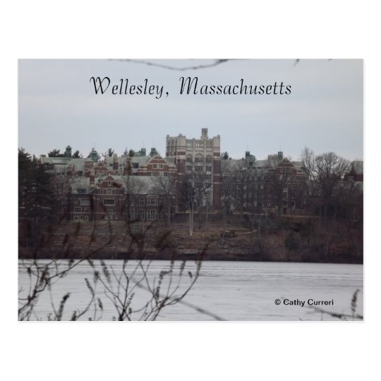 Wellesley, Massachusetts Postcard
