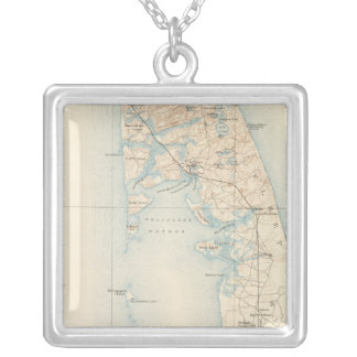 Wellfleet, Massachusetts Silver Plated Necklace