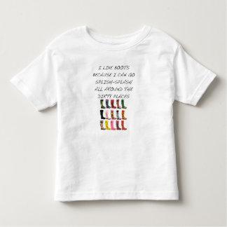 Wellington Boots Toddler T-Shirt