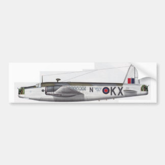 wellington british bomber bumper sticker