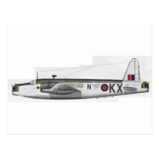 wellington british bomber postcard