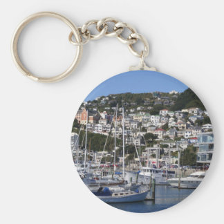 Wellington Harbour Key Ring