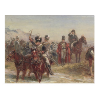 Wellington in Spain (oil on panel) (pair of 124470 Postcard