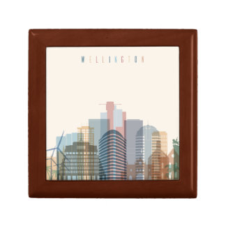 Wellington, New Zealand | City Skyline Gift Box