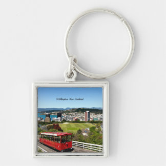 Wellington, New Zealand Key Ring