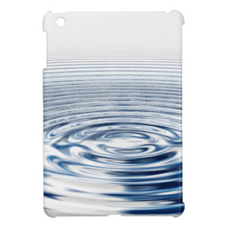 Wellness Mediation Waves Concentric Circles iPad Mini Covers