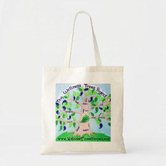 Wellness Tree Tote Budget Tote Bag