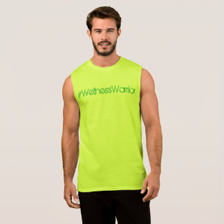 #Wellness Warrior Tank Mens Tropicana