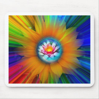 Wellness Water Lily - Sunflower Mouse Pad