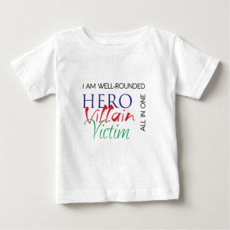 WellRounded - Hero, Villain, Victim - All in One T-shirts