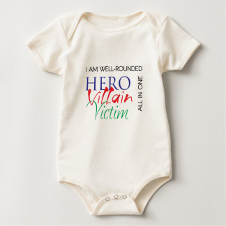 WellRounded - Hero, Villain, Victim - All in One Romper