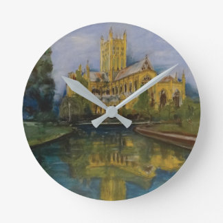 Wells Cathedral Morning Round Clock
