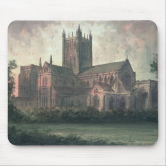 Wells Cathedral: view from the South-east Mouse Mat