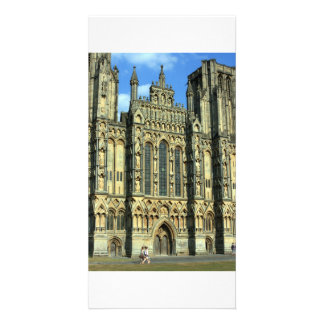 Wells Cathedral Wells Somerset UK Photo Card Template