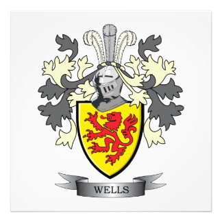 Wells Coat of Arms Art Photo