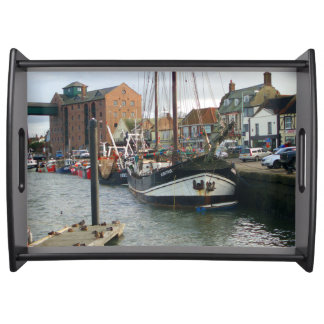 Wells-next-the-Sea Harbour serving tray
