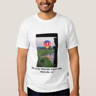 Wellsville Balloon Rally Men's T Shirt