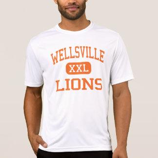 Wellsville - Lions - High - Wellsville New York T Shirts