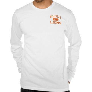 Wellsville - Lions - High - Wellsville New York T-shirts