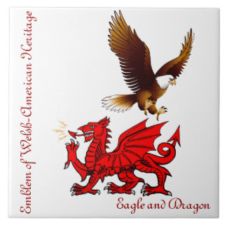 Welsh-American Collector's Tile