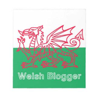 Welsh Blogger Notepad