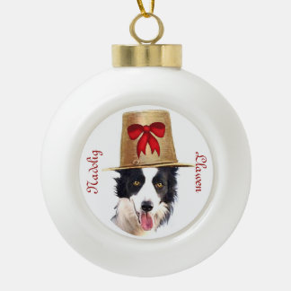 Welsh Boarder Collie Ornament