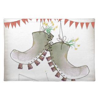 welsh boots placemat