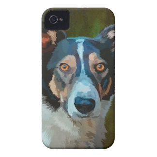 Welsh Border Collie iPhone 4 Case-Mate Case