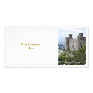 WELSH CASTLES CUSTOMIZED PHOTO CARD