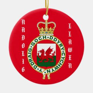 Welsh Christmas Ornament