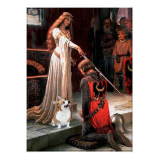 Welsh Corgi 2 - The Accolade Poster