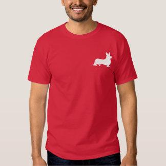 Welsh Corgi Cardigan in Silhouette Tshirt
