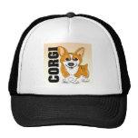 Welsh Corgi Dog Art Mesh Hats