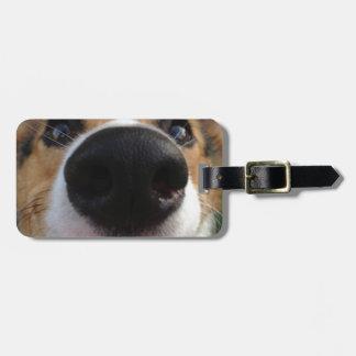 Welsh Corgi Dog Nose Collection Bag Tag