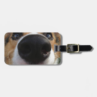Welsh Corgi Dog Nose Collection Luggage Tag