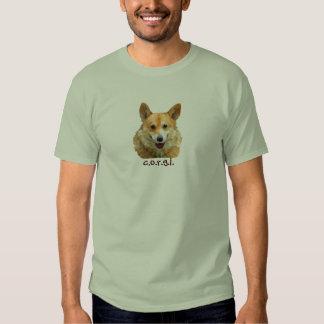 "Welsh Corgi ""Jazz"" Fences For Fido Men's t-shirt"