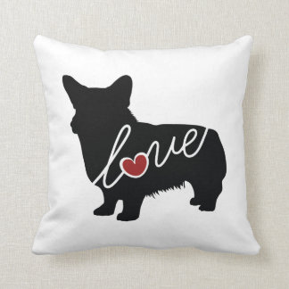 Welsh Corgi Love Cushion