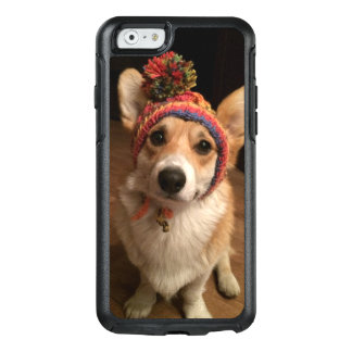 Welsh Corgi Pembroke Wearing A Hand Knitted Hat OtterBox iPhone 6/6s Case