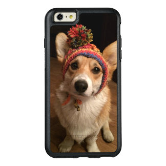 Welsh Corgi Pembroke Wearing A Hand Knitted Hat OtterBox iPhone 6/6s Plus Case