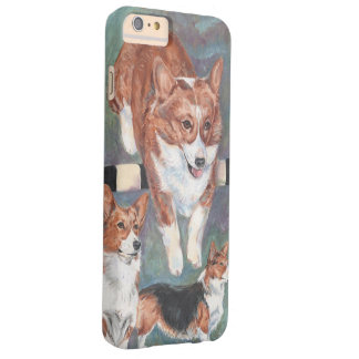 Welsh Corgie Barely There iPhone 6 Plus Case