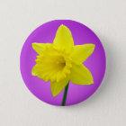 Welsh Daffodil - III - Round 6 Cm Round Badge